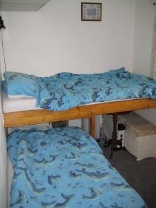 Bedroom 2 with bunk beds