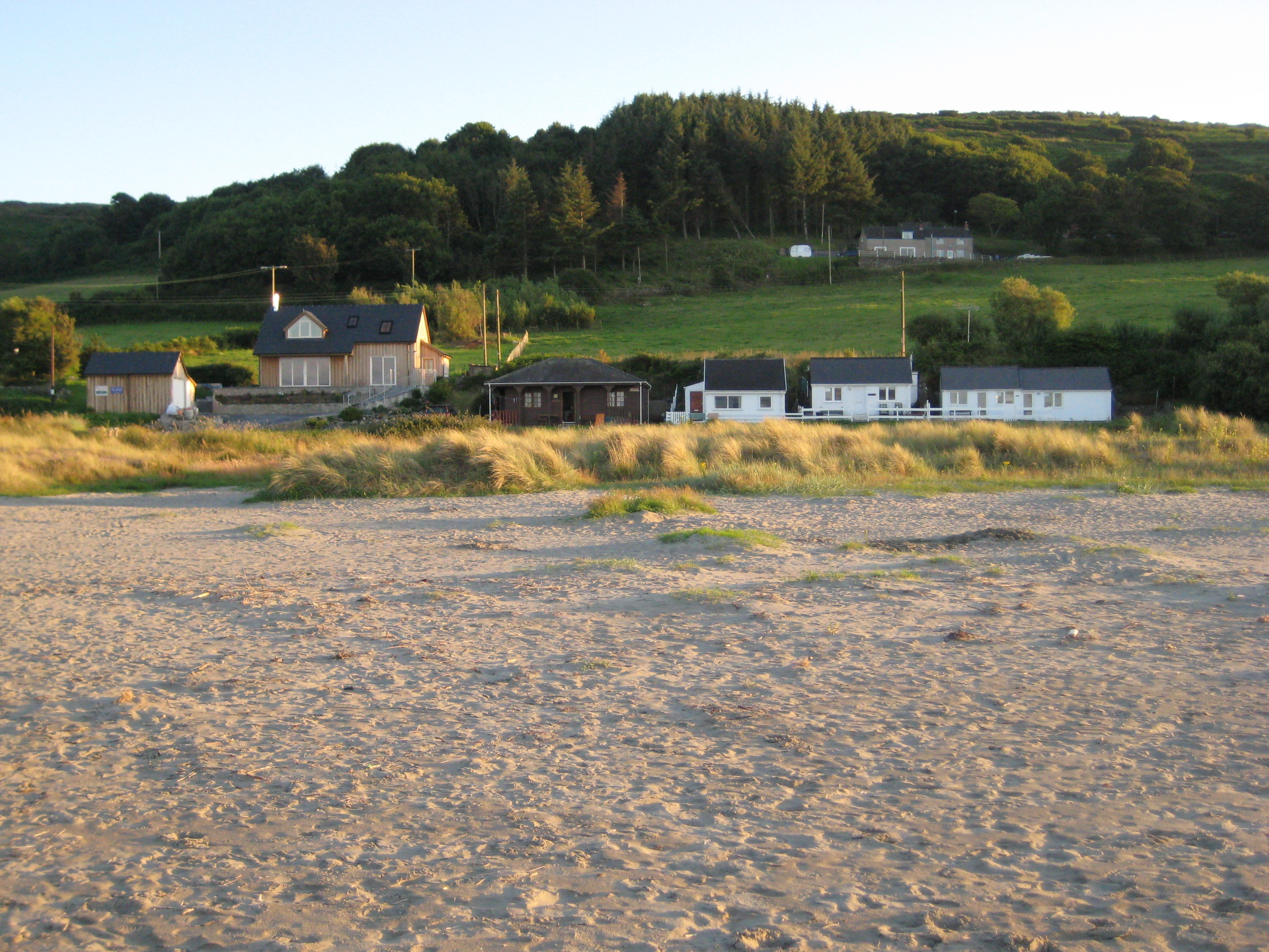 Poppit Sands from the beach
